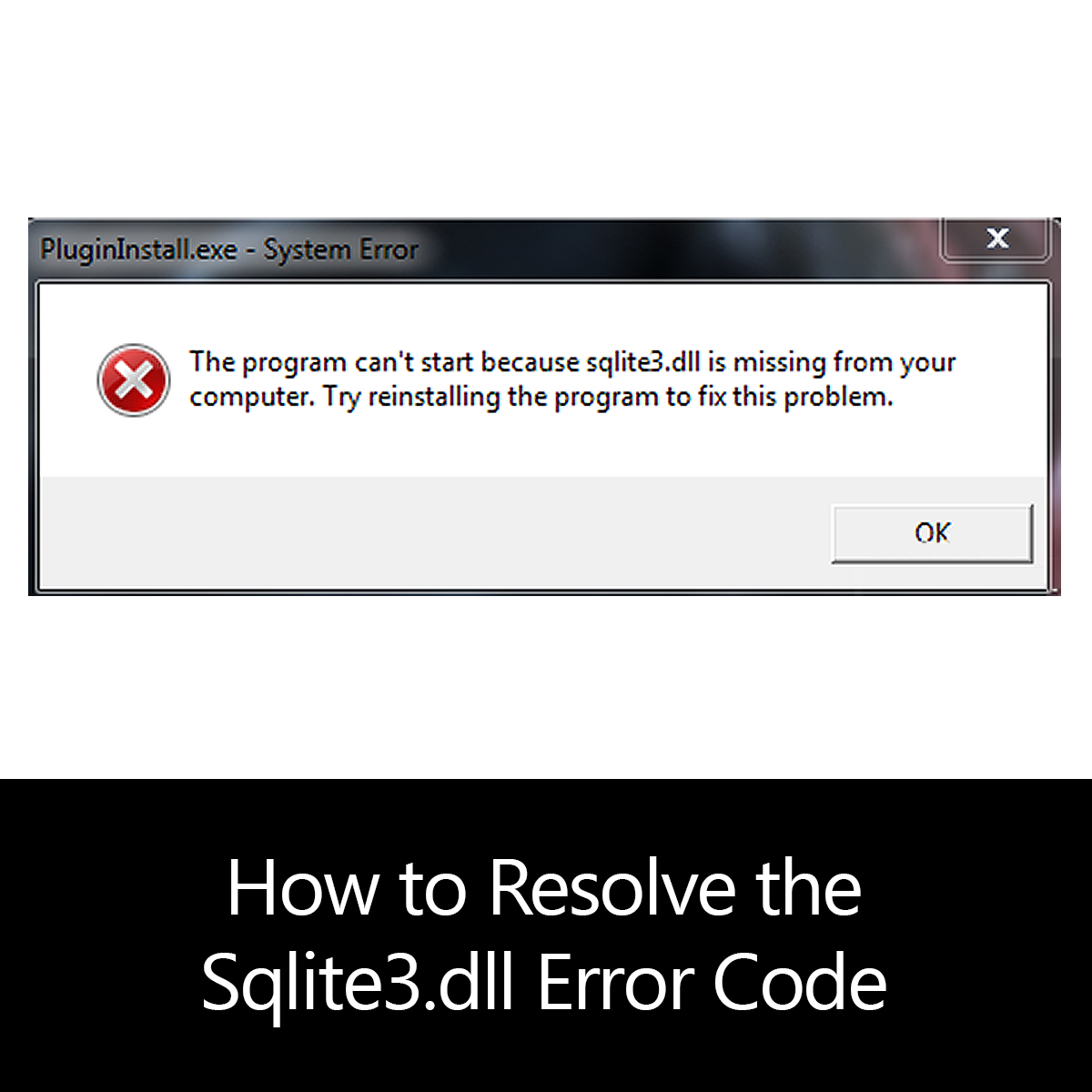 How to Resolve the Sqlite3.dll Error Code