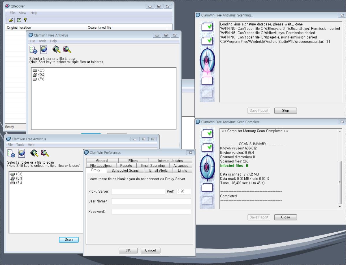 open source anti virus ClamWin