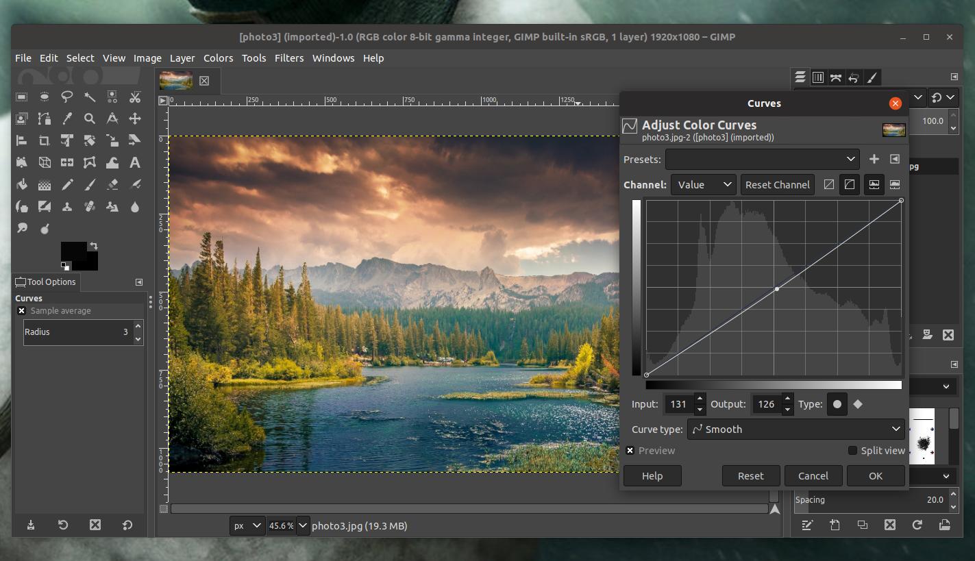 open source photo editor gimp