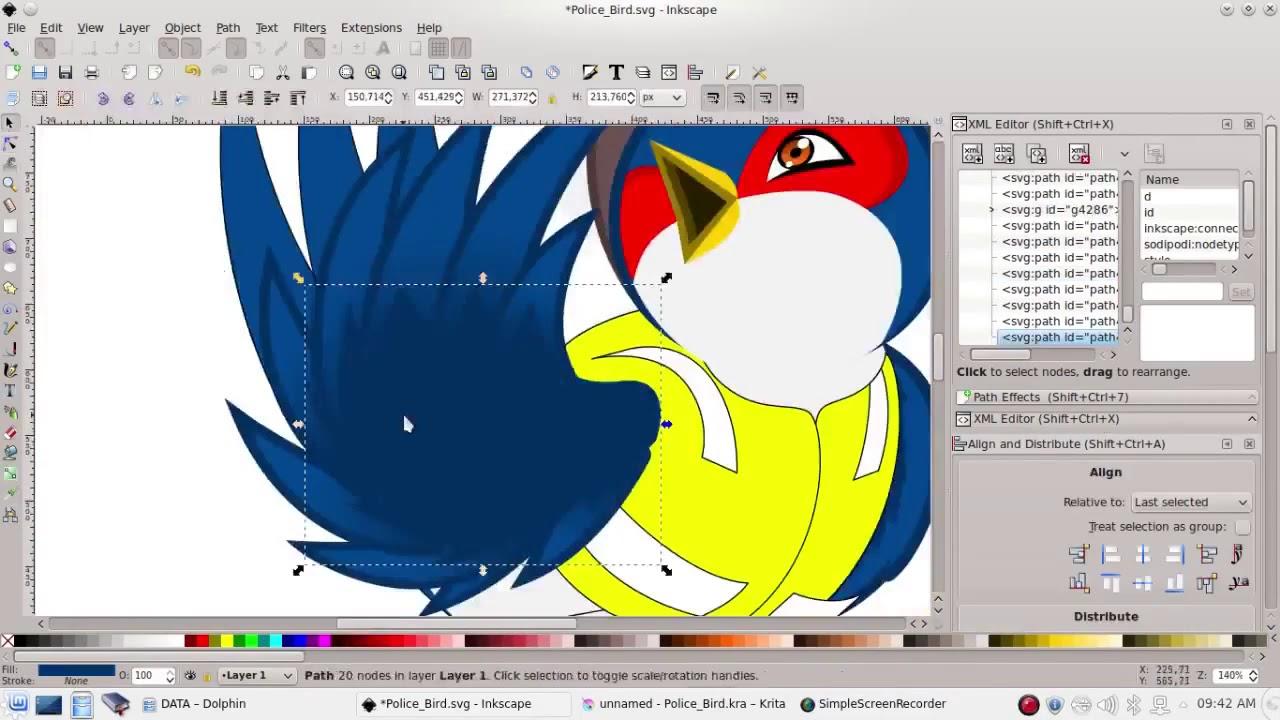 open source vector tool inkscape