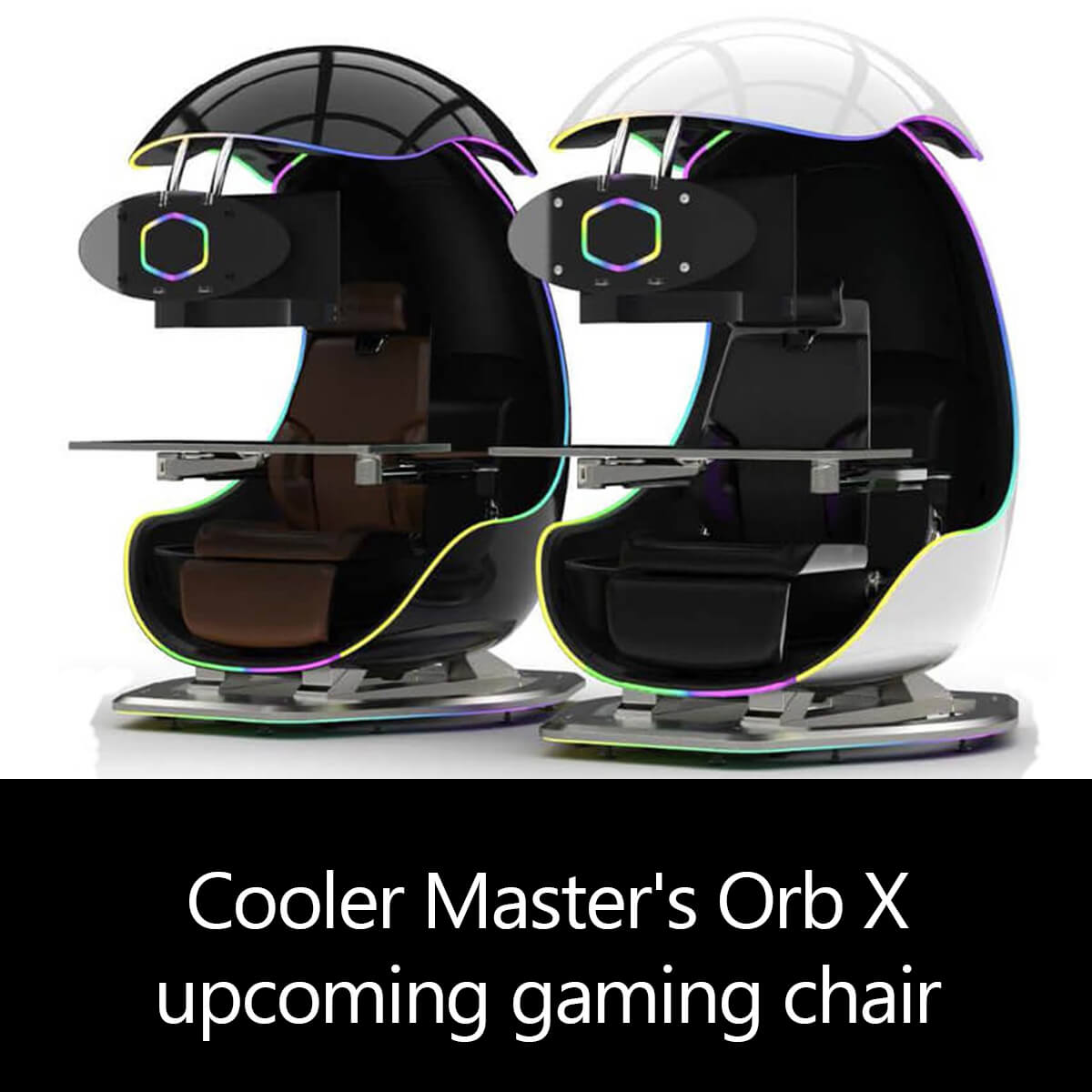 Cooler Master's Orb X upcoming gaming chair