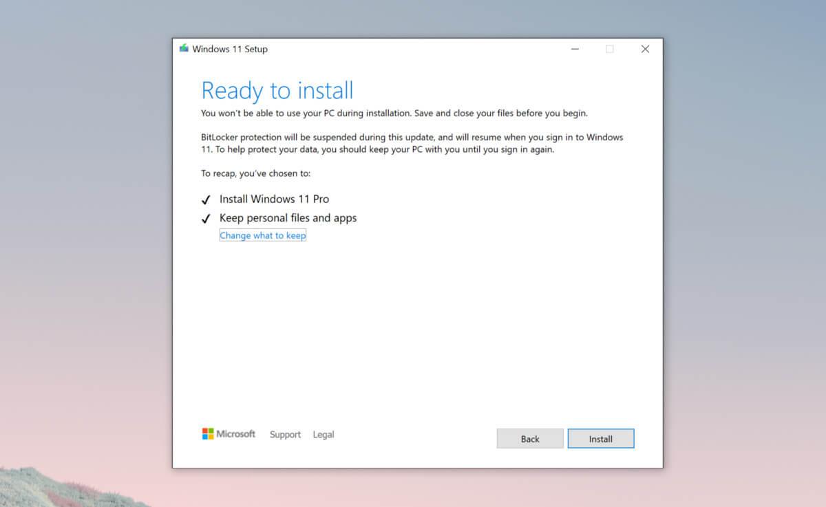Windows 11 TPM installation
