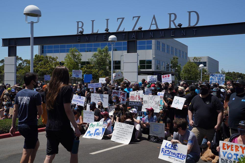 Blizzard employees