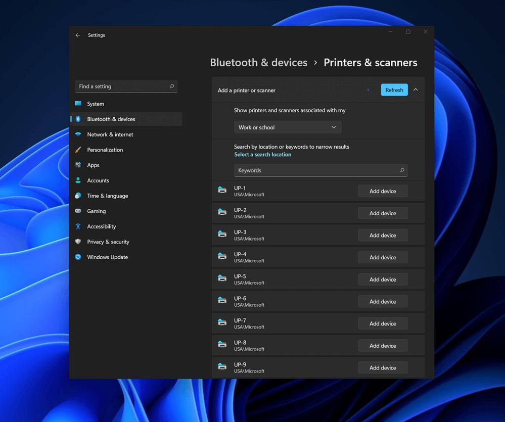 Windows 11 Bluetooth