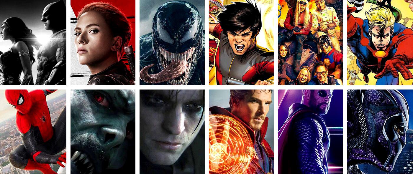 upcoming comic movies