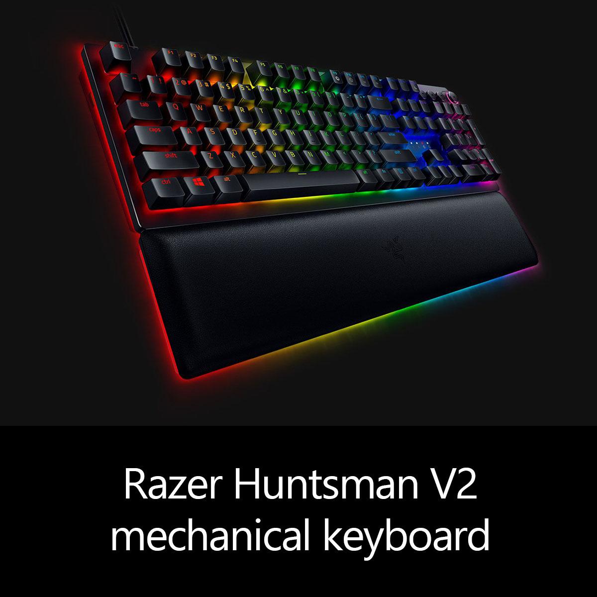 Razer Huntsman V2 mechanical keyboard