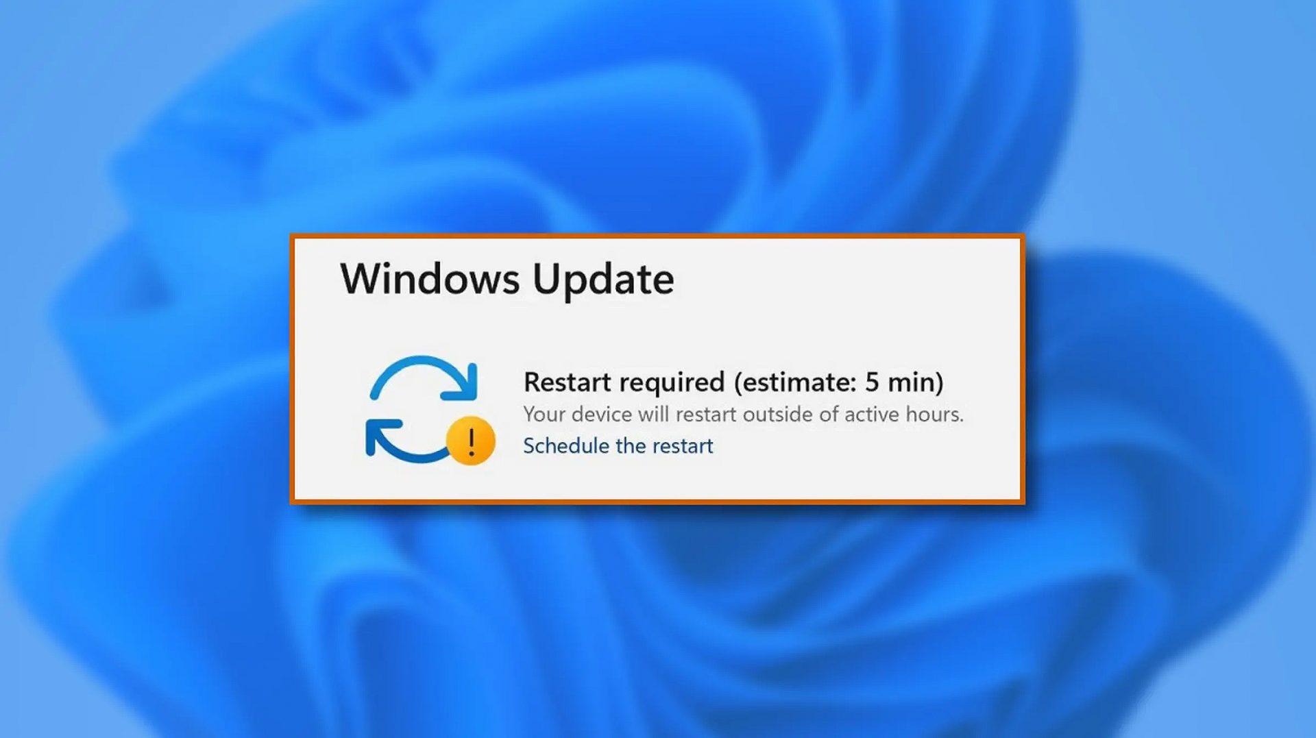 windows 11 schedule update