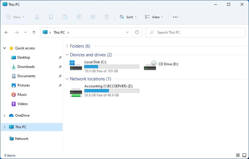 windows 11 network drive